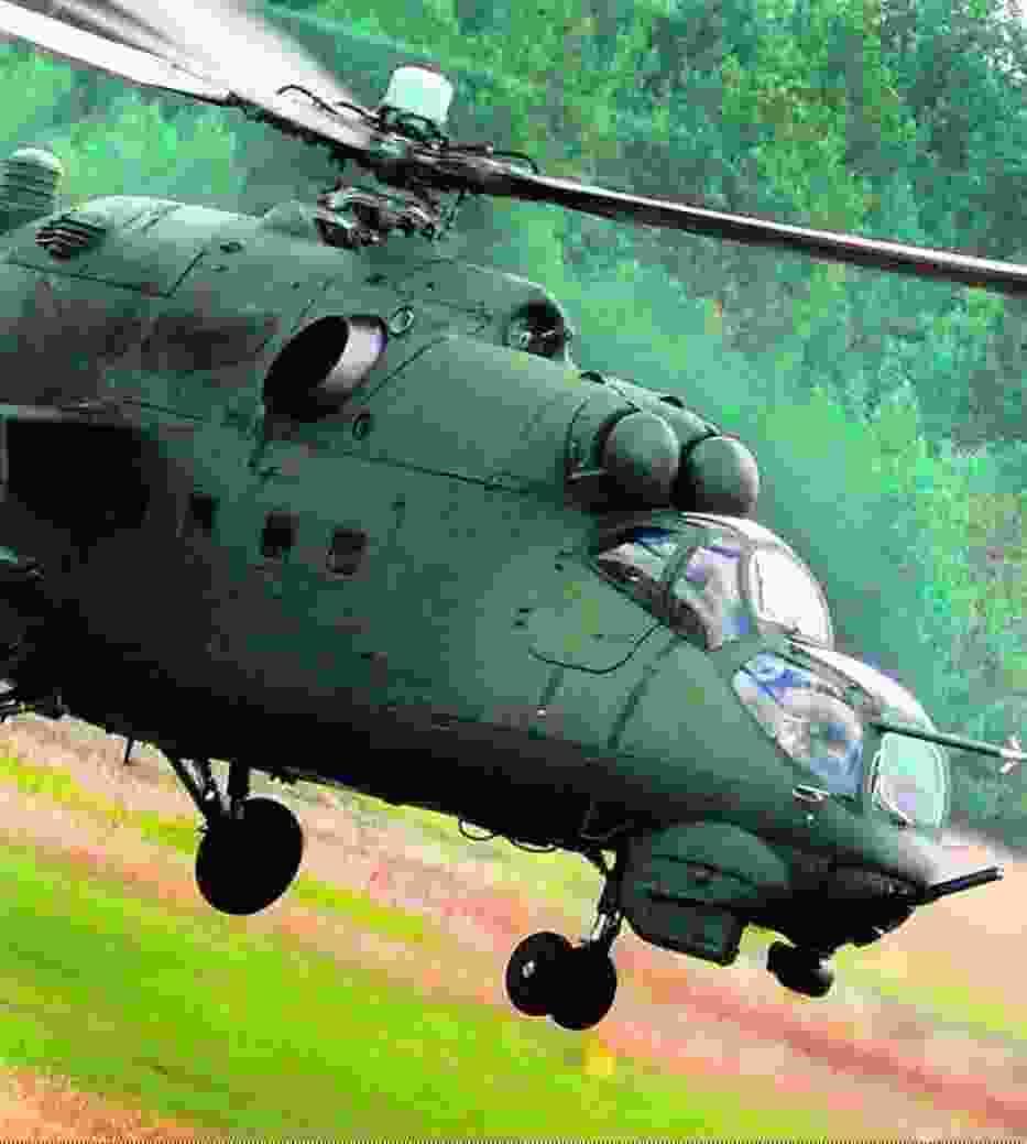 Tak jak bezpieczne są śmigłowce bojowe MI-24 z Pruszcza Gdańskiego czy Inowrocławia na poligonie w Nadarzycach, na pewno nie będą w Afganistanie