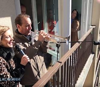 Bydgoszczanki zaprosiły artystów na balkon