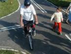 Finał Festynu rowerowego corocznie odbywa się na Miasteczku rowerowym. Fot. Iwona KAMIEŃSKA
