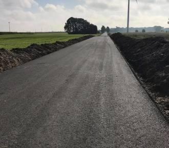 Nowe drogi w Margoninie
