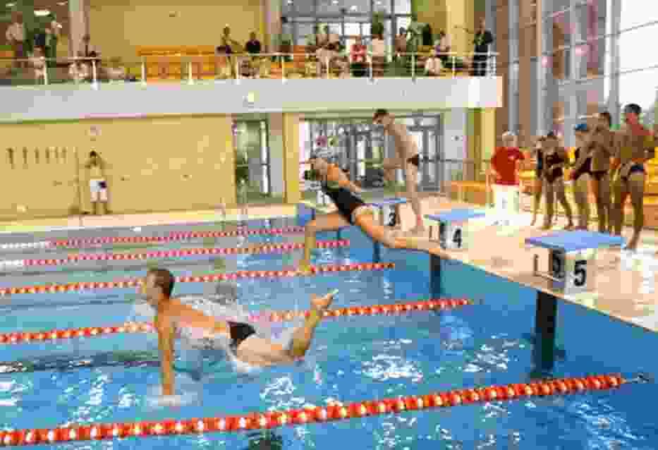 Jako pierwsi z nowej pływalni skorzystali ratownicy Wodnego Ochotniczego Pogotowia Ratunkowego