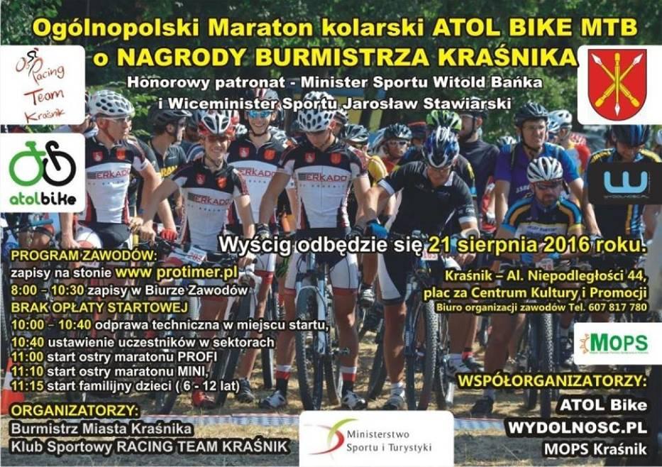Maraton kolarski MTB w Kraśniku