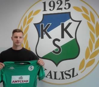 Tomasz Hołota podpisał kontrakt z KKS-em Kalisz