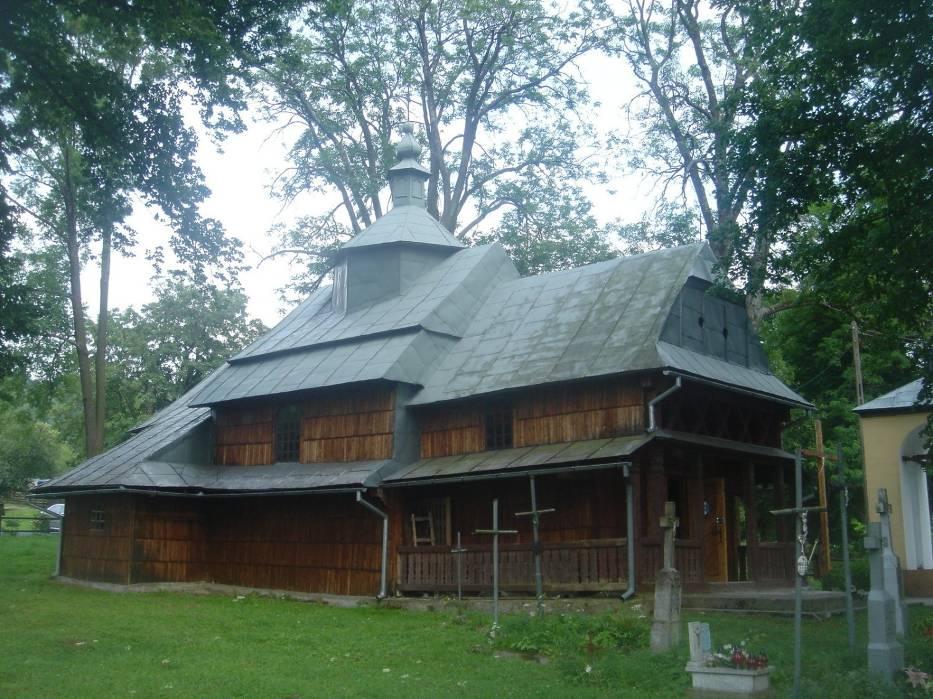 Cerkiew w Rabem przy pętli bieszczadzkiej