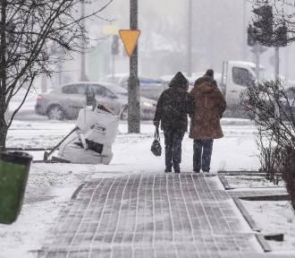 Uwaga na spore opady śniegu. IMGW wydało ostrzeżenie dla części Małopolski