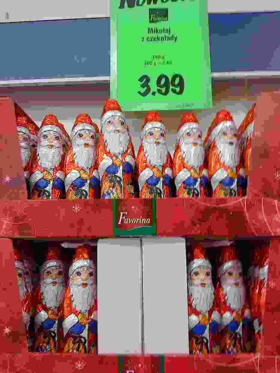 Mikołaje w Lidlu już czekają