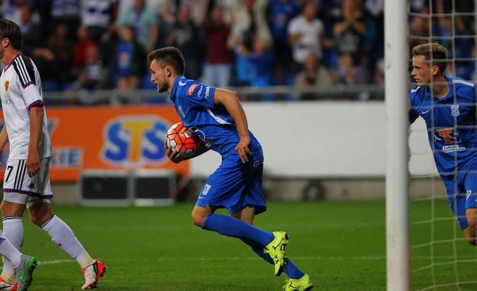 Lech Poznań - FC Basel 1:3. Kolejorz dalej od Ligi Mistrzów