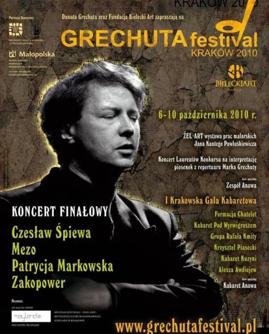 Grechuta Festival Kraków 2010