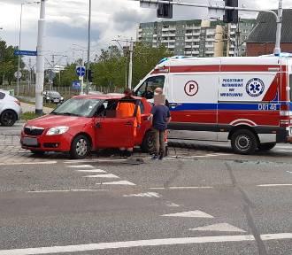 Wypadek przy moście Osobowickim we Wrocławiu [ZDJĘCIA]