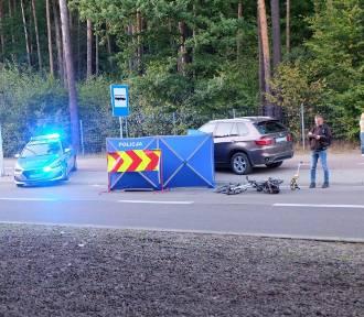 Kobieta w BMW potrąciła rowerzystę. Mężczyzna zginął na miejscu