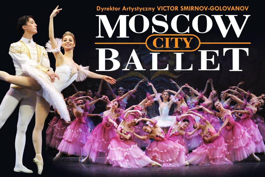 Plakat trasy koncertowej Moscow City Ballet