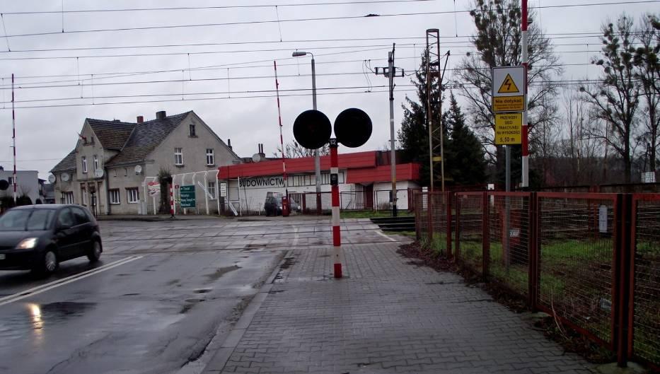 Przejazd kolejowy ul. 17 Stycznia - Graniczna
