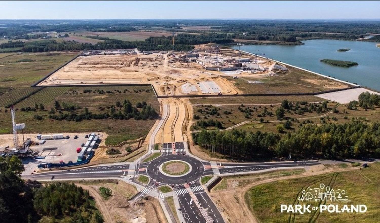 Budowa największego aquaparku w Polsce i dróg do niego