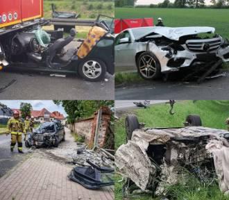 Ku przestrodze! Zdjęcia z wypadków w Wielkopolsce