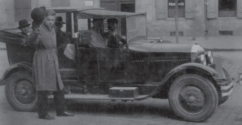 Towarzystwo Budowy Samochodów AS, ul. Złota 64