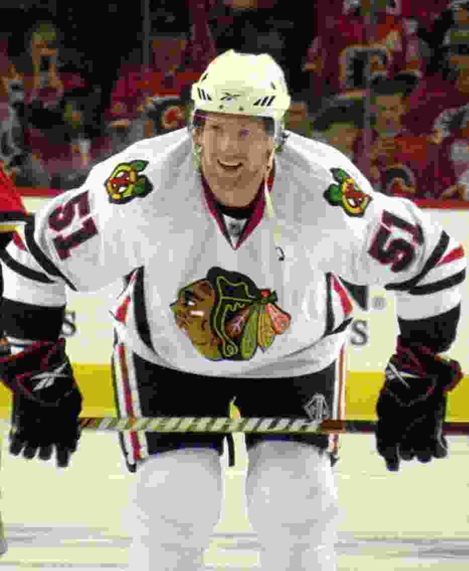 Brian Campbell z Chicago Blackhawks