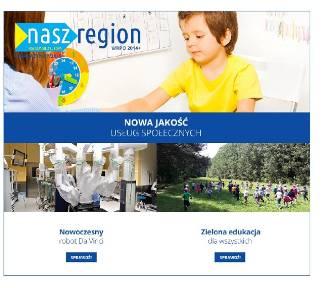 """Nowy """"Nasz Region""""! Unijna pomoc dla najsłabszych"""