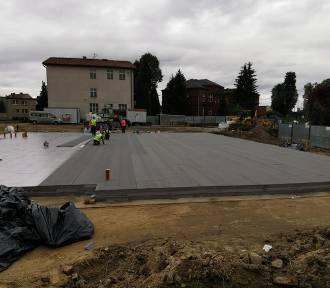 Trwają prace przy budowie nowej siedziby Centrum Kultury w Pniewach