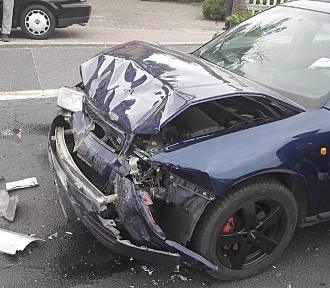 23-letni mężczyzna jechał samochodem na egzamin na prawo jazdy i spowodował wypadek w Łagowie