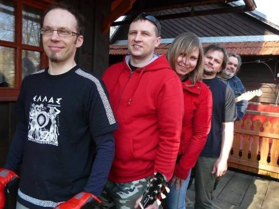 Seven Nation Army - od lewej: Marcin, Jarek, Kasia, Jacek i Piotrek