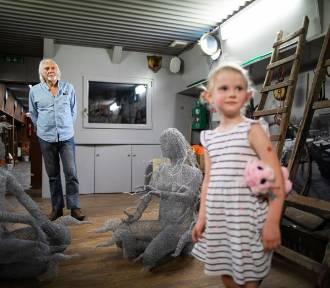 Bydgoska barka Lemara z rzeźbą Garry'ego Greenwooda będzie główną atrakcją Festiwalu Wisły [zdjęcia]