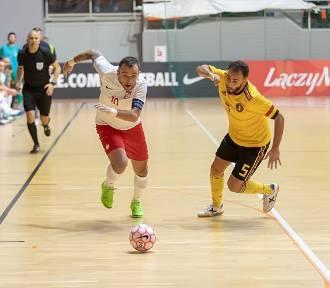 Polacy lepsi od Belgów w futsalu! 2:1 dla biało-czerwonych [ZDJĘCIA]