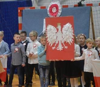 Piękne uroczystości z okazji Święta Niepodległości w szkołach gminy Żukowo  ZDJĘCIA
