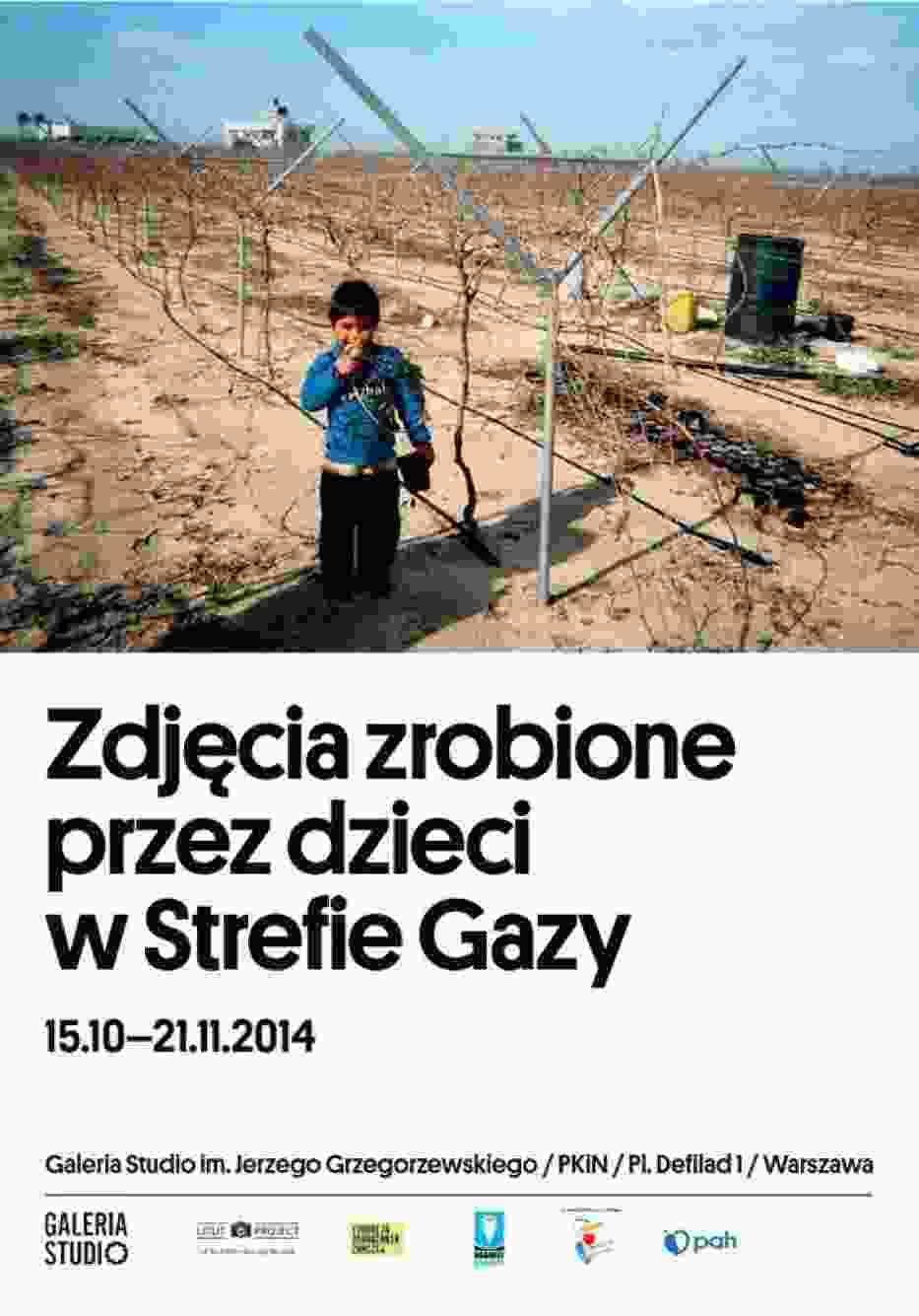 Plakat wystawy fotograficznej. / Fot. materiał promocyjny Teatru Studio w Warszawie