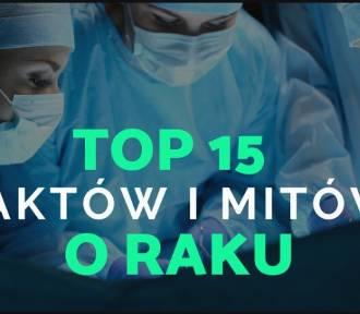 Top 15 faktów i mitów na temat raka