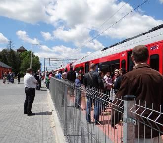 Łódzka kolej przewiozła najwięcej pasażerów na trasie do Sieradza