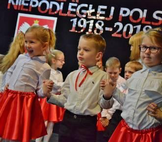 Widowisko na 100-lecie niepodległości w przedszkolu Urszulanek (fot)