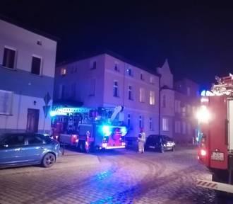Sławno - pożar na ulicy Koszalińskiej [ZDJĘCIA]