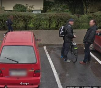 Jesteś z Rąbina? Więc może i Ciebie przyłapał Google Street View!