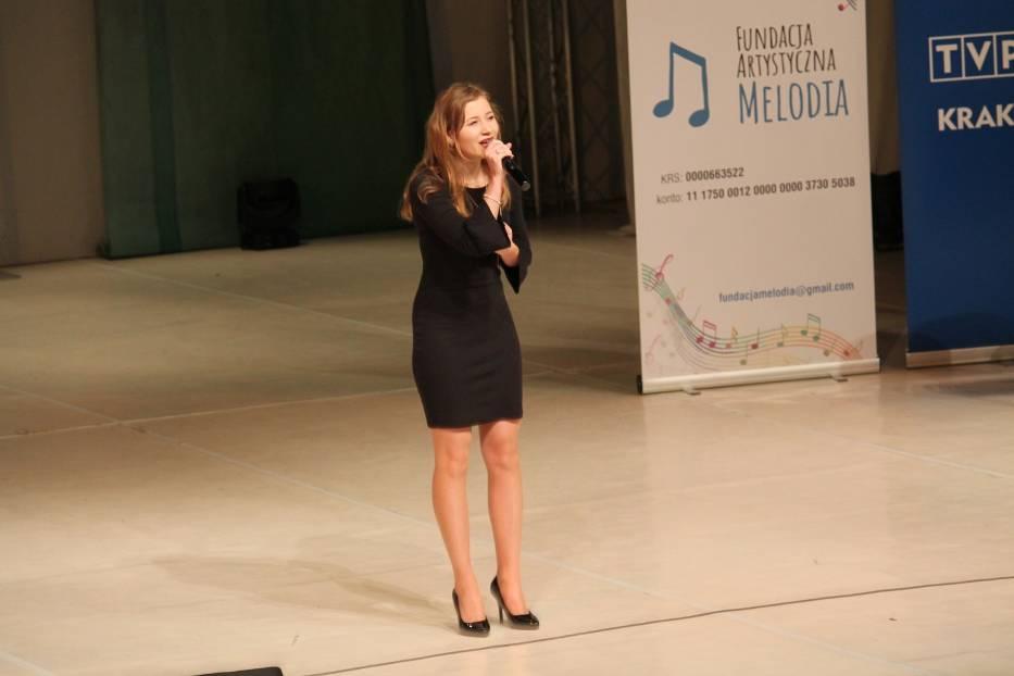 Maja Kowalska podczas występu