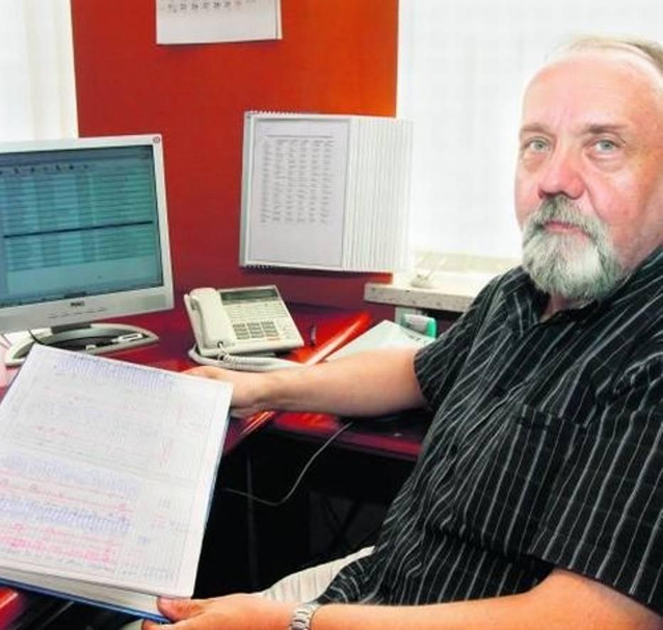 Ryszard Pyssa cieszy się z tego, że będzie można postępy uczniów śledzić w internecie