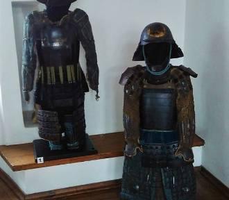 Zbroje samurajskie na wystawie łęczyckiego muzeum
