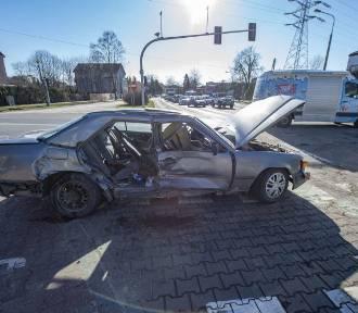 Wypadek na Sołaczu - 5 osób rannych!