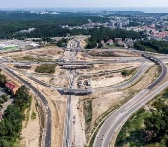 Budowa Trasy Kaszubskiej w Gdyni z lotu ptaka! Tak obecnie wygląda
