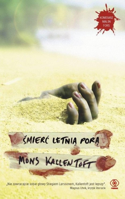 """Okładka książki """"Śmierć letnią porą"""""""