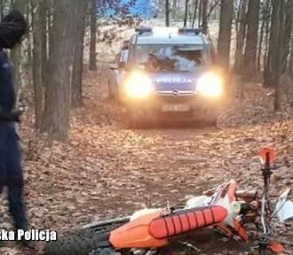 Tragiczny wypadek na motocrossie koło Trzebiela! Zginął 17-latek!