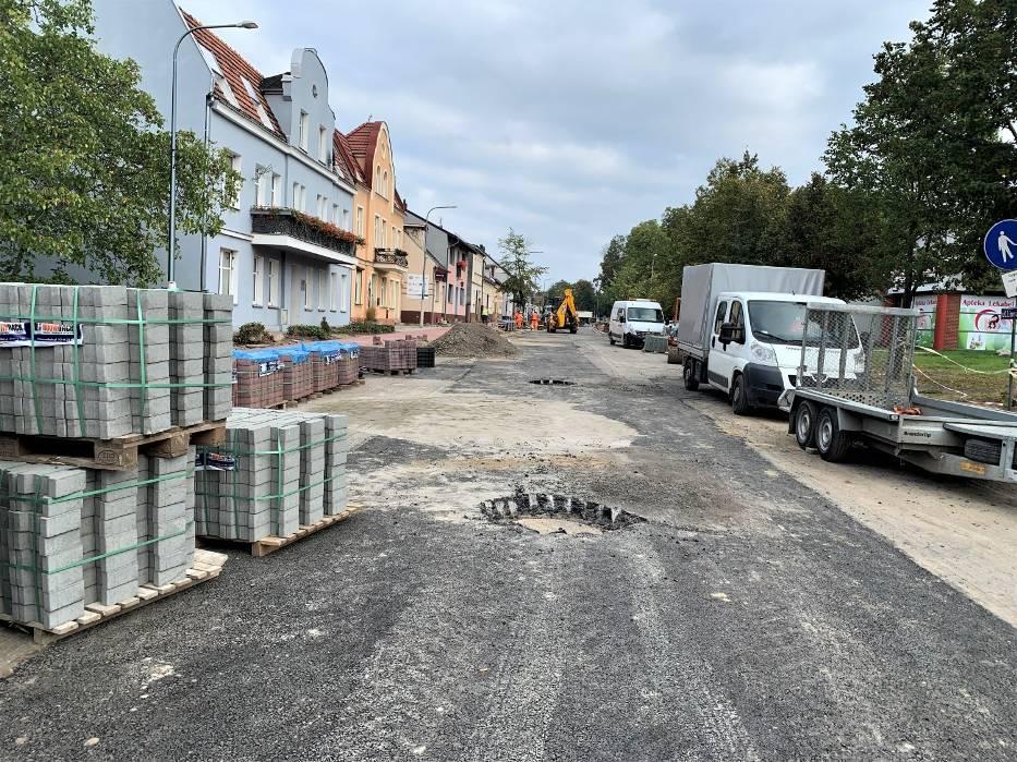 Ulica Lipowa w połowie października będzie przejezdna - zapewnia starosta wolsztyński Jacek Skrobisz
