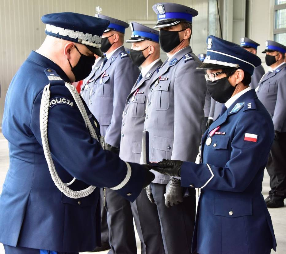 47 policjantów z KPP w Pucku otrzymało awanse - 29 lipca 2020