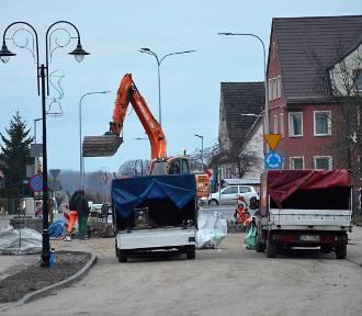 Sławno: Finisz remontu ulicy Mickiewicza i przyległych uliczek [ZDJĘCIA, WIDEO] - postęp prac