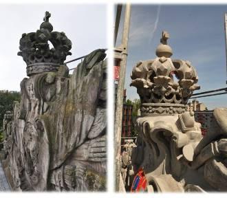 Tak przebiegał remont Bramy Portowej w 2012 roku. Zdjęcia przed i po