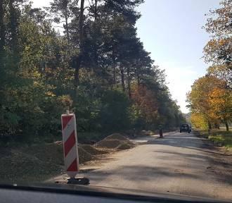 Mieszkańcy wywalczyli remont drogi do Wałowic, ale liczą na więcej