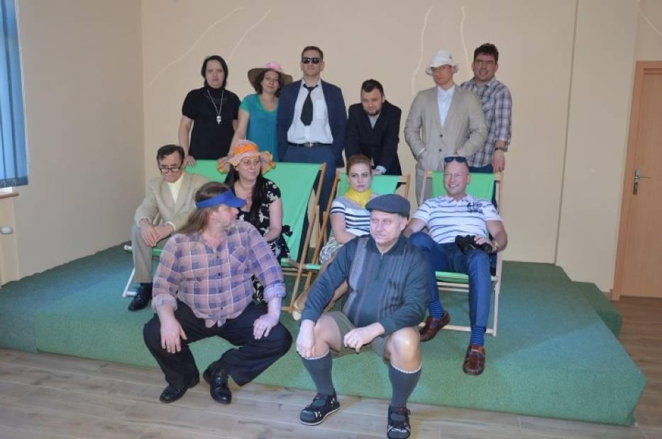 Spektakl charytatywny w wejherowskiej bibliotece