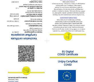 Unijny Certyfikat COVID (UCC). Co to jest? Jak można uzyskać? Jak długo ważny?