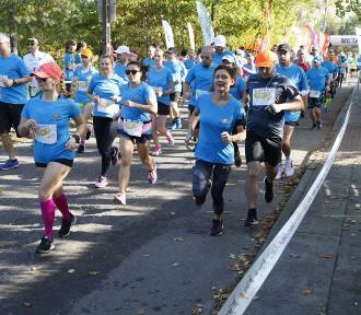 Bieg z Radością 2019. Uczestnicy pokonali 10 kilometrów [ZDJĘCIA]