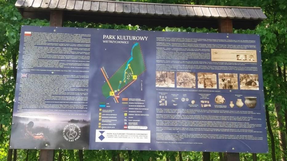 Rezerwat archeologiczny w Wietrzychowicach