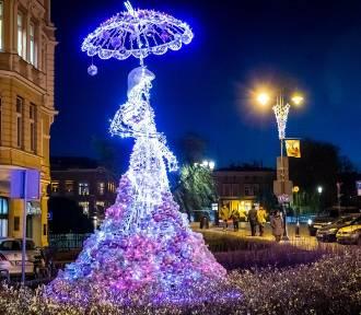 Bydgoszcz w blasku kolorowych świateł [zdjęcia]